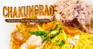 """One & Only """"Chakungrao"""" Tomyum Pork Noodles in Phuket!"""