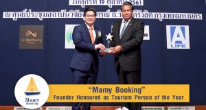 Another Important Milestone: Mamy Booking Founder Honoured as Tourism Person of the Year