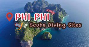 16 Points – Krabi, Phi Phi Scuba Diving Sites