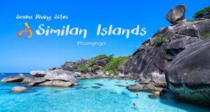 Scuba Diving Sites in the Similan Islands – Phangnga