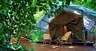 Stay on Nyaung Oo Phee island for 1 night in a comfy fan tent(B.A.)