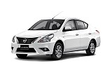 Nissan Almera or similar by Chic Car Rent