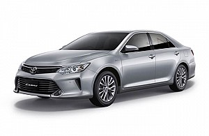 Toyota Camry or similar by Hertz