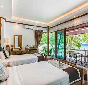 Stay on Nyaung Oo Phee island for 2 nights in Luxury Villa(C.A.)